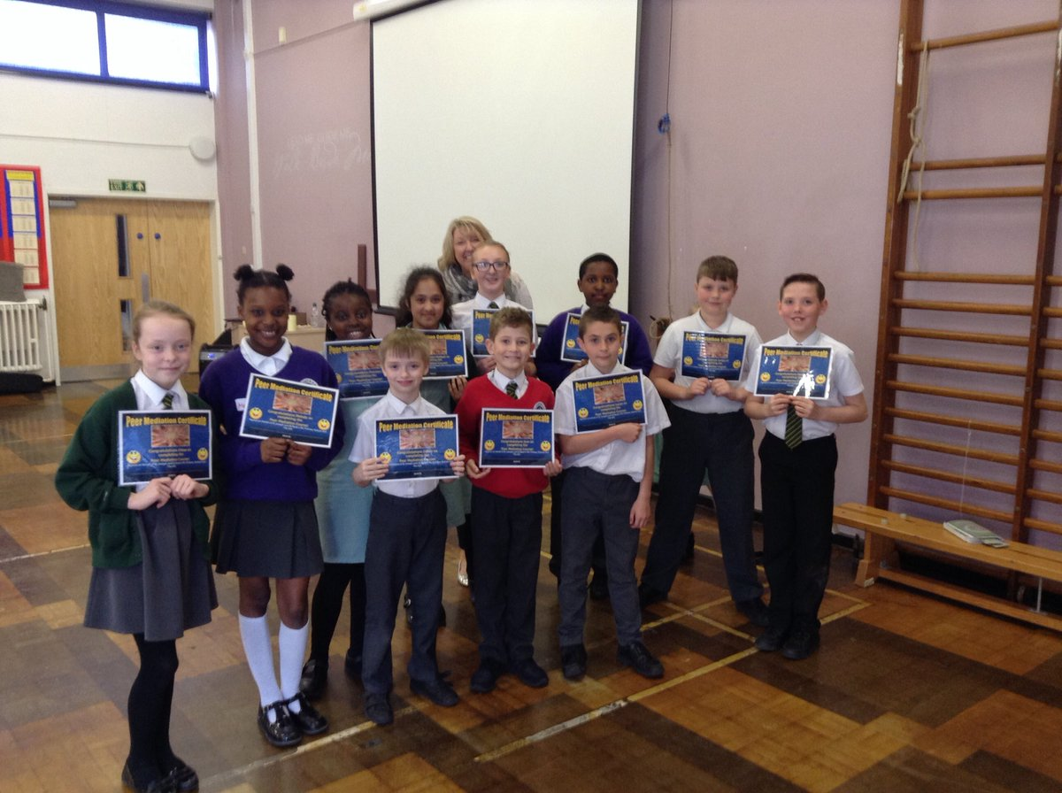 Well done to the Year 5&#39;s @StJosephStBede who completed the Peer Mediation training this week! @MissBurke10 #sjsb #rolemodels  #Peacekeepers<br>http://pic.twitter.com/ukOWL5jPNZ