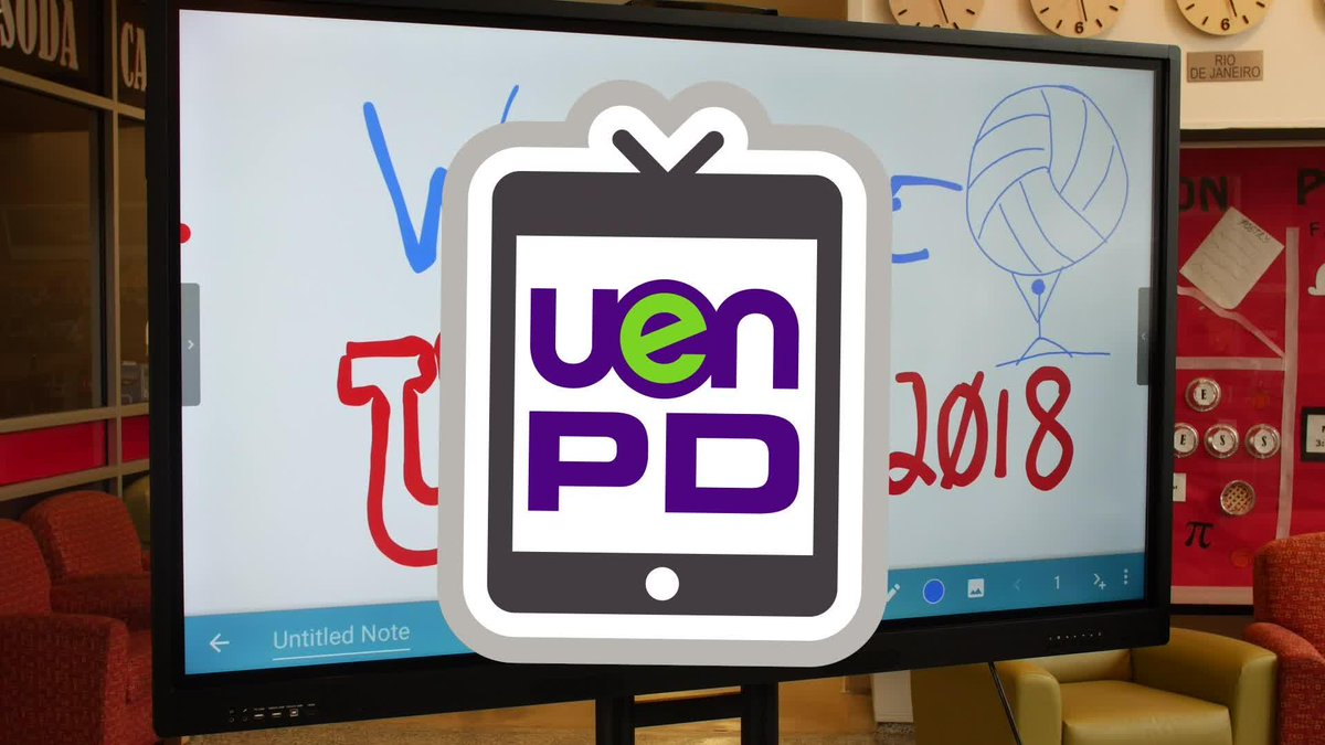 Watch a recap of this years conference with @DaniKSloan, @shannonririe, @covili and @EdTecHakk on this new episode of UEN PDTV! https://youtu.be/ppVzx9opRAk ...