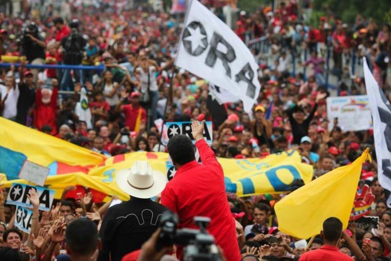 La Patria que nos corresponde es esta, aquí y ahora. Y es hoy cuando tenemos que hacernos cargo. Por eso Pueblo venezolano, este 20 de mayo tenemos que darle una lección al mundo y salir por millones a votar. Porque el Presidente de Venezuela lo elegirá el Pueblo. #VamosVenezuela