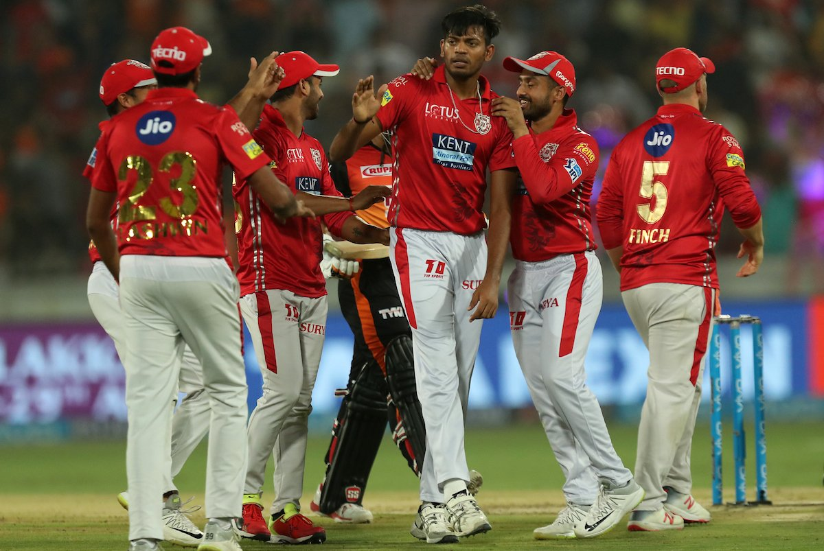 #SRHvKXIP - Sunrisers bowling unit wins a low scoring thriller!