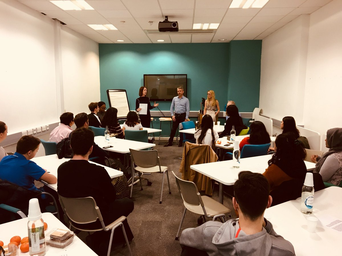 What is real or fake news? Journalists from the #Thomson Reuters #National Council for the Training of Journalists (NCTJ) #charlotteproject @LeadersUnlocked giving @Westking students an insights &amp; the skills needed to break the next big news story #journalism #futureskills<br>http://pic.twitter.com/kAf00CRzec