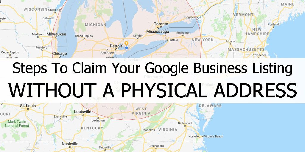 Steps To Claim Your Google Business Listing WITHOUT A Physical Address!   https:// buff.ly/2JLGHqs  &nbsp;    #Google #GoogleBusiness <br>http://pic.twitter.com/9sAaszNgja