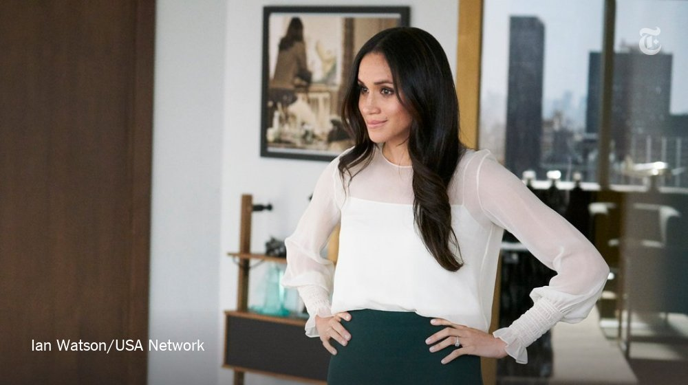 Meghan Markle left 'Suits.' Here's what she took with her. https://t.co/y7GztqyRhW https://t.co/fIxnkPHiih