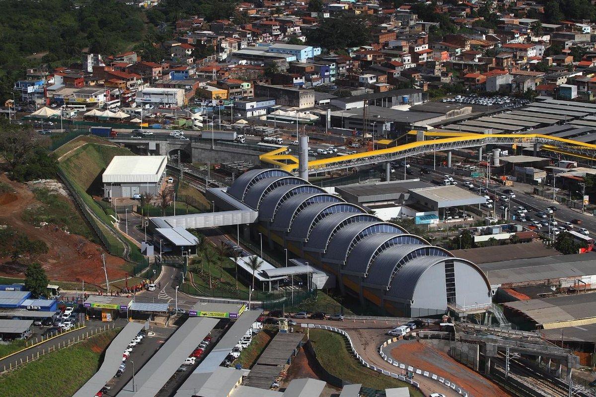 Estação Aeroporto dá início a operação comercial; integração com ônibus metropolitanos ocorrerá normalmente https://t.co/Y5QbM0bwyY