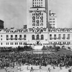 Image for the Tweet beginning: It's City Hall's 90th birthday!  On