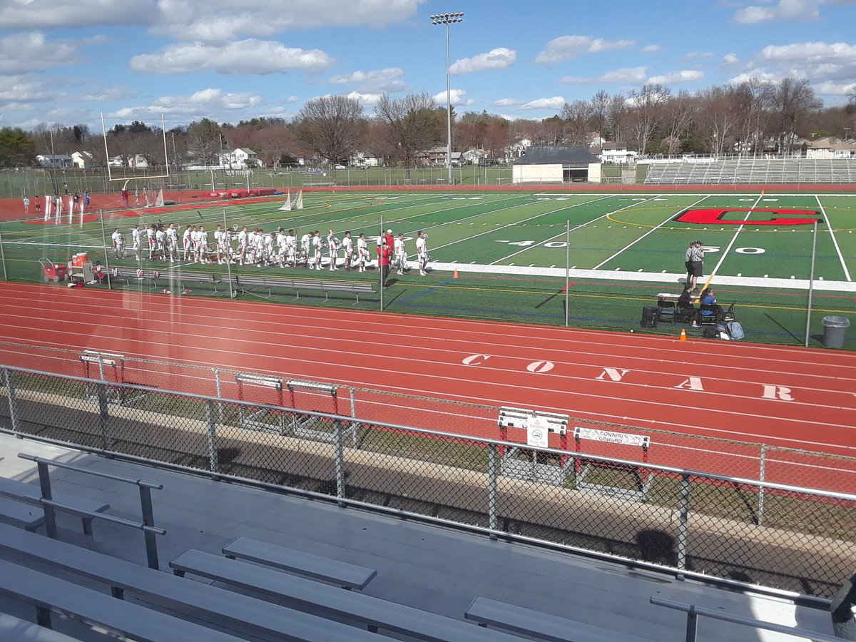 At @ConardCHS for @CHSWHAthletics boys&#39; lacrosse action against the Southington Blue Knights (4-3). Conard comes in 5-3 after a win over Northwest Catholic on Monday. #WeHa #ctlax @WeHartford<br>http://pic.twitter.com/LwCcWouBQB