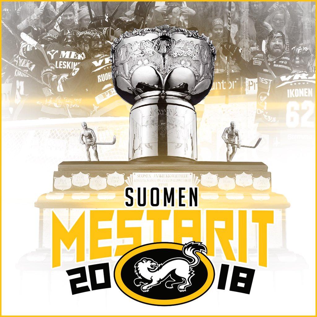 SE ON SIINÄ! KÄRPÄT ON SUOMEN MESTARI 2018!