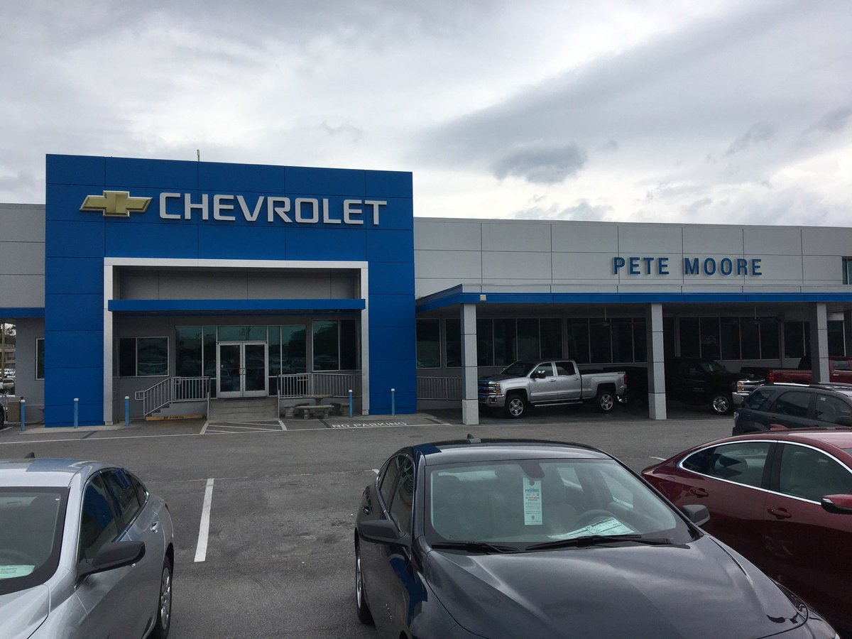 "paul o'flaherty on twitter: ""i'm at pete moore chevrolet in"