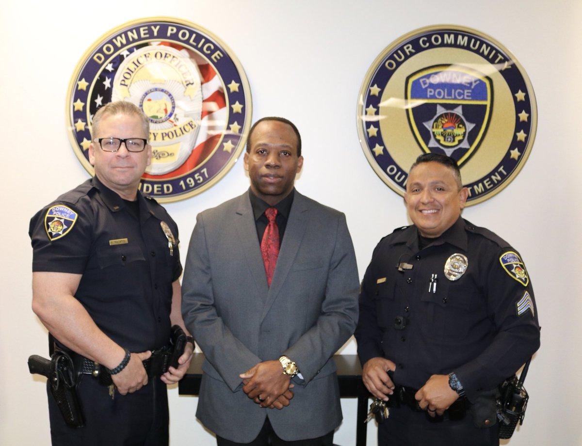 Downey police news