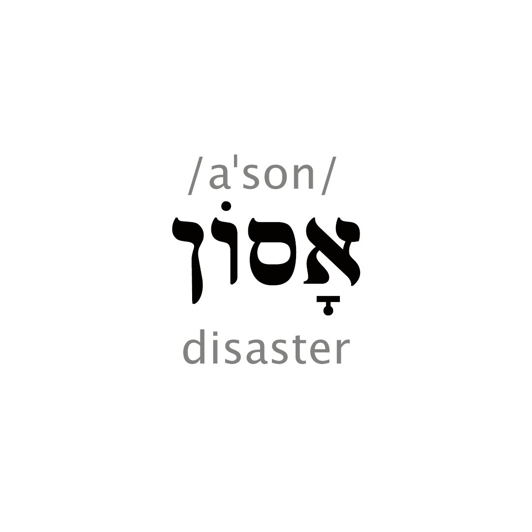 Hebrew Words on Twitter: