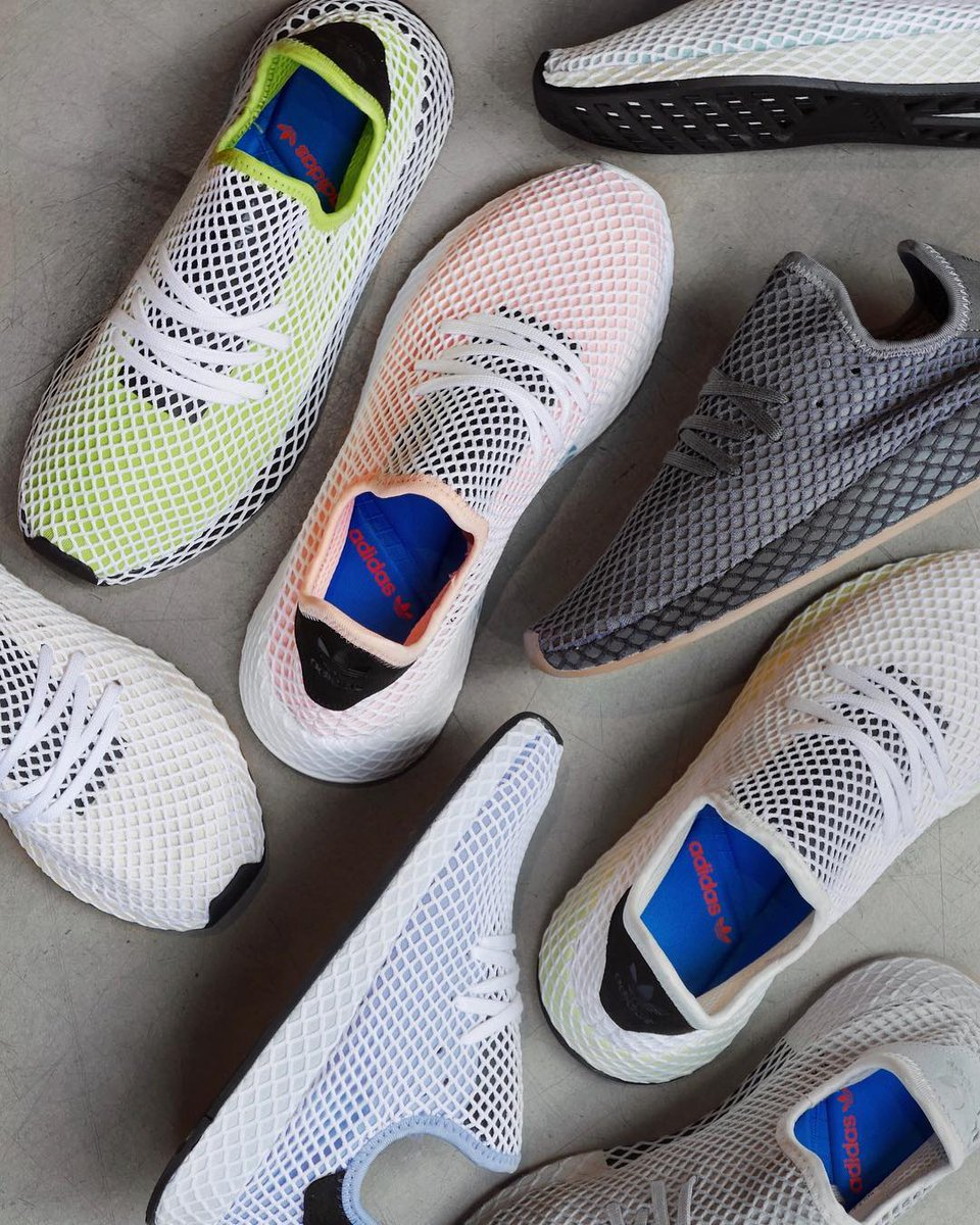 24de31abf554 Eight new colorways of the adidas Originals Deerupt Runner will be  launching online tomorrow on April 27th at 00 01 AM (CEST).