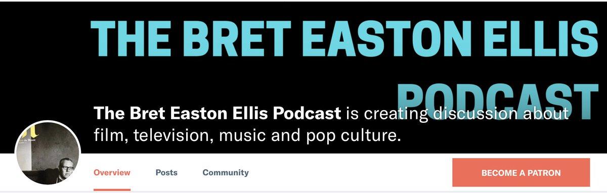 Bret Easton Ellis on Twitter:
