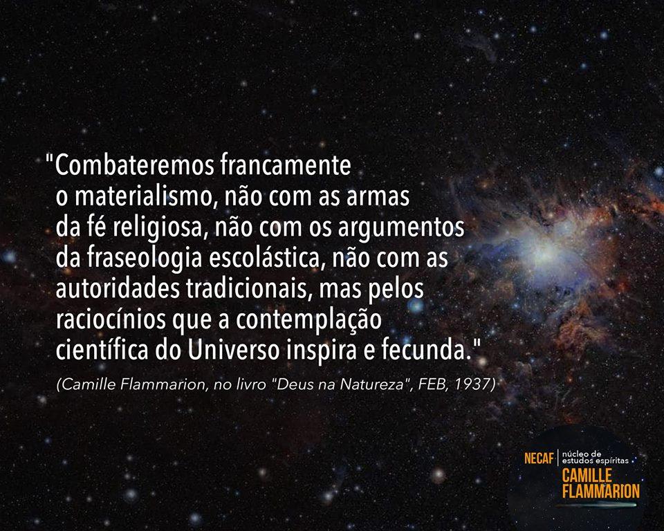 Núcleo De Estudos Espírita Camille Flammarion At Necaf توییتر