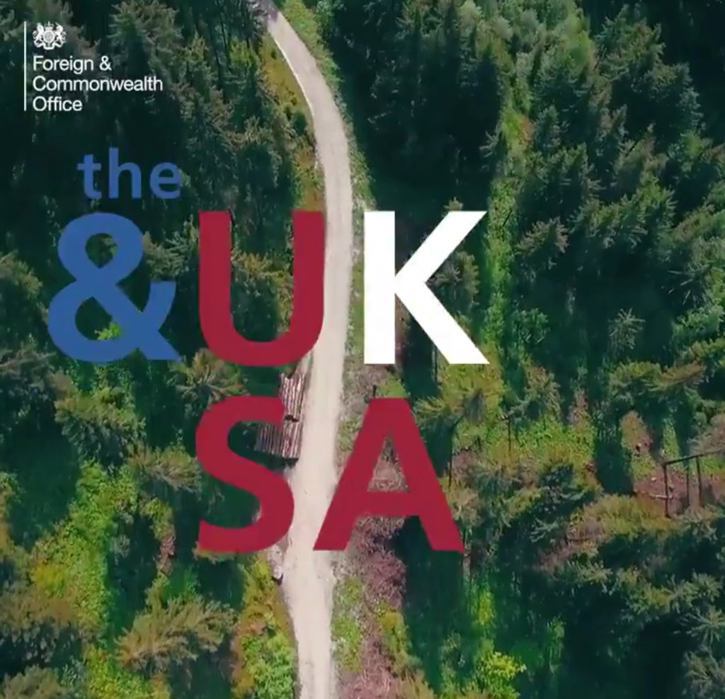 """The &UkSA"" is the social diplomacy brand for the ..."