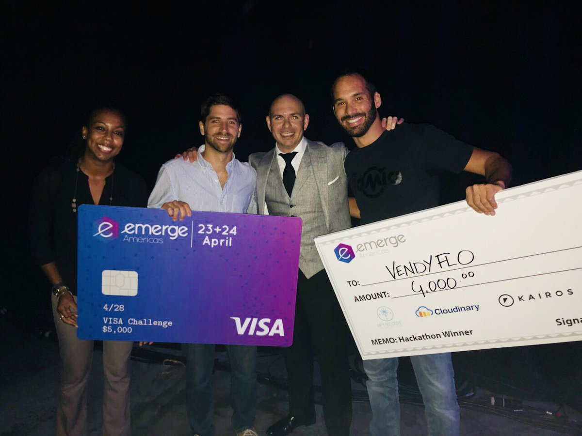 A special thanks to Mr. Worlwide!!Thank you @pitbull for your support in the Miami tech community and all that you do for the city of Miami. #leader #pa'lante #dale #emerge18<br>http://pic.twitter.com/I5AFnyySNP