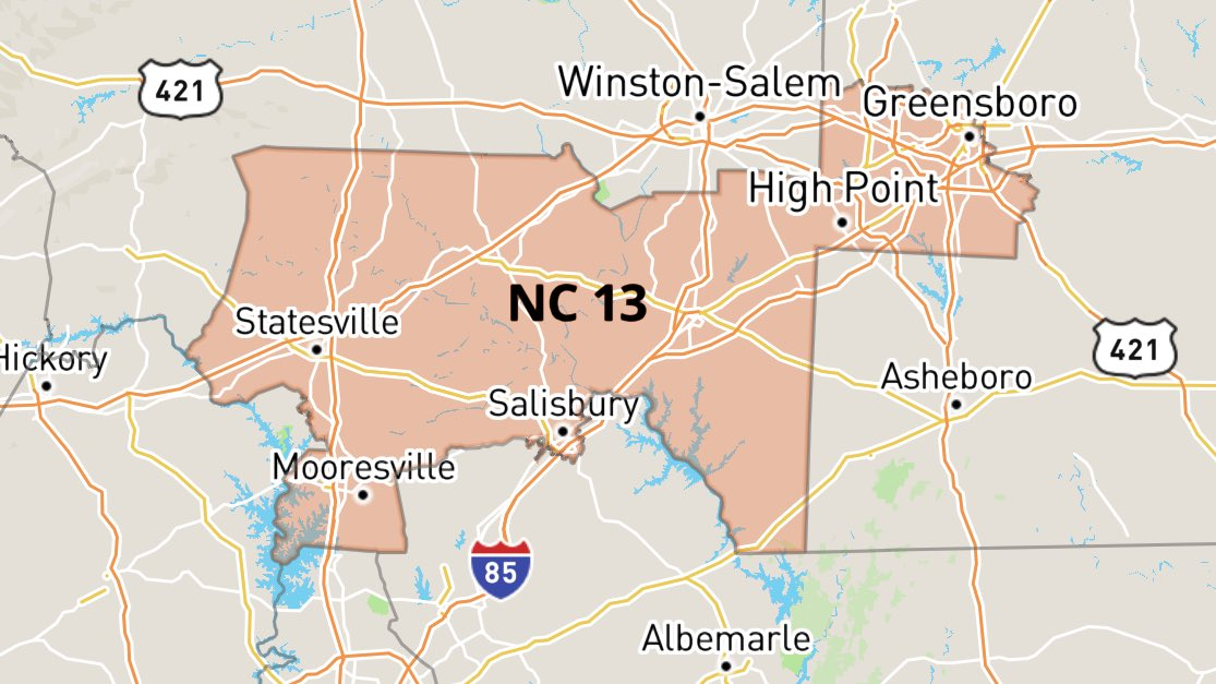 """NC13, meet the candidates who want to take Ted Budd's US House seat. He's a gun store owner who stuffs his pockets every time the NRA says """"thay're comin' ta tayke yor guuns,"""" &amp; voted to give CEOs billions &amp; his constituents a small temporary tax break. NC13 needs a #BlueWave! <br>http://pic.twitter.com/iD5tz3gJPt"""