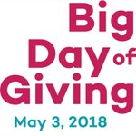 Image for the Tweet beginning: The @bigdayofgiving is next week,