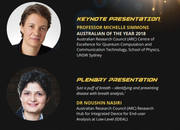 Ignite, inspire &amp; inquire! Join @noushinnasiri and @ausoftheyear Prof Michelle Simmons at the @AISNSW Science Conference, 28 May   https:// bddy.me/2r012R6  &nbsp;   #womeninSTEM #womeninscience  @UTSEngage @UTS_Sci_IBMD<br>http://pic.twitter.com/kbN0TLcpE3