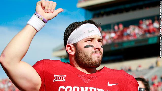 The Cleveland Browns make University of Oklahoma quarterback Baker Mayfield the No. 1 pick in the 2018 NFL Draft https://t.co/9iCw03QwRr
