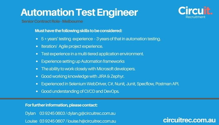 CircuIT Recruitment on Twitter: