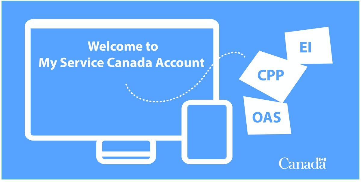 MSCA Service canada website