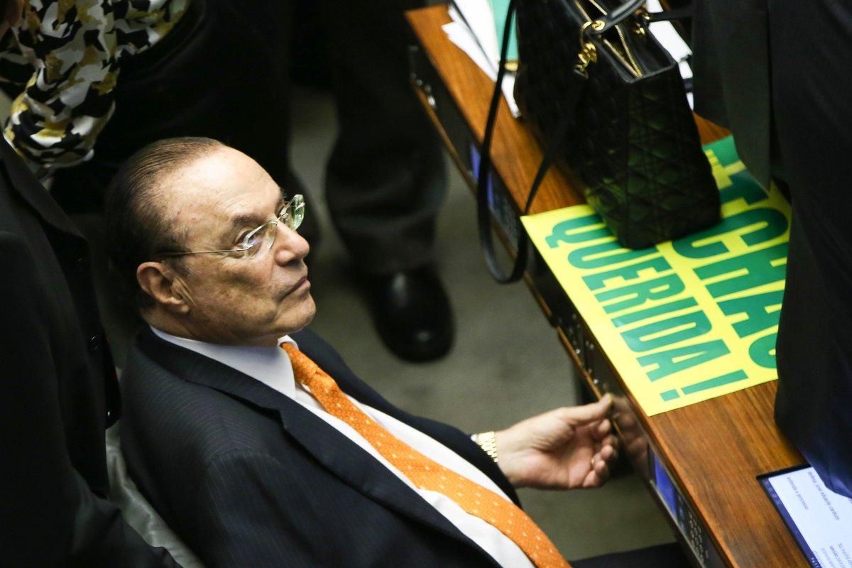 Maluf deve ser julgado por falsidade ideológica em 22 de maio. https://t.co/Kfa2mSaJsd 📷 Arquivo/Marcelo Camargo/Agência Brasil