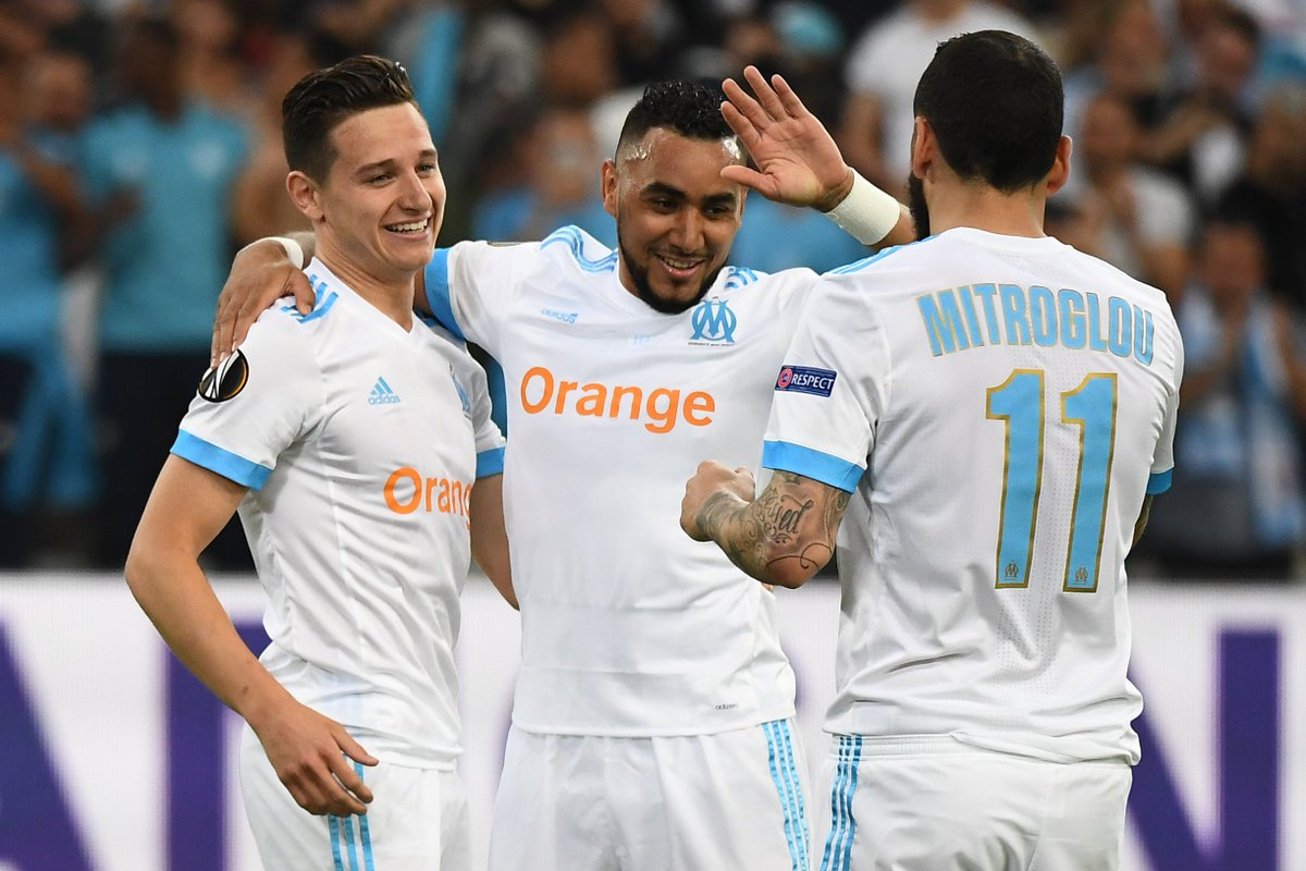 Olympique Marseille vs Salzburg (UEFA Europa League)
