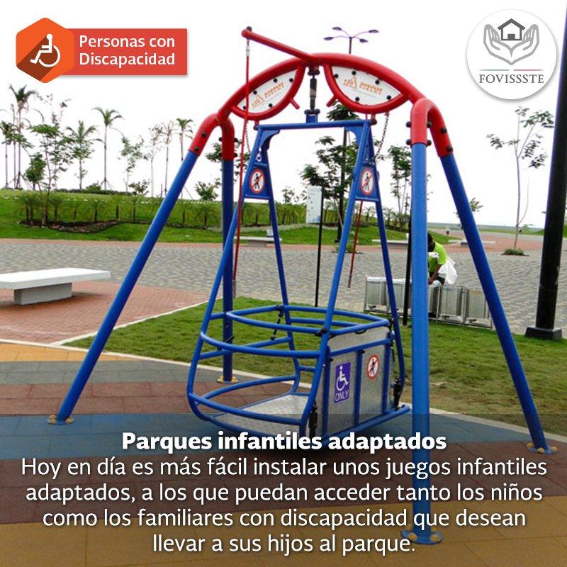Fovissste On Twitter Parques Infantiles Adaptados El Derecho Al