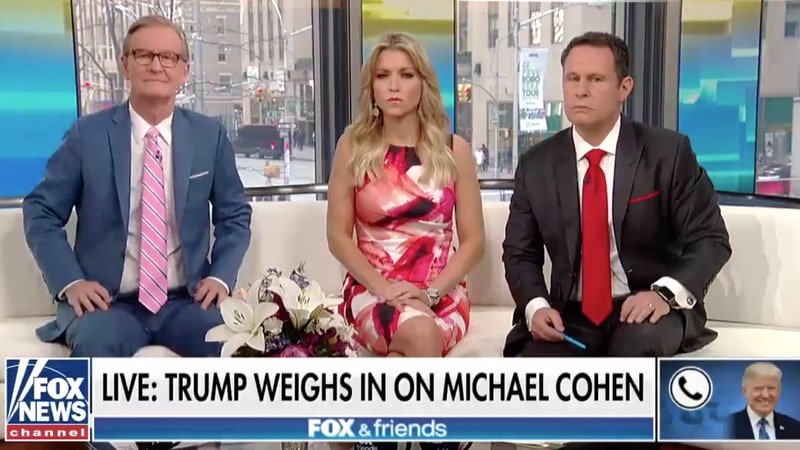 See President Trump's insane 'Fox & Friends' interview https://t.co/xWg3JiDtkR https://t.co/ESZDA6Gs4C