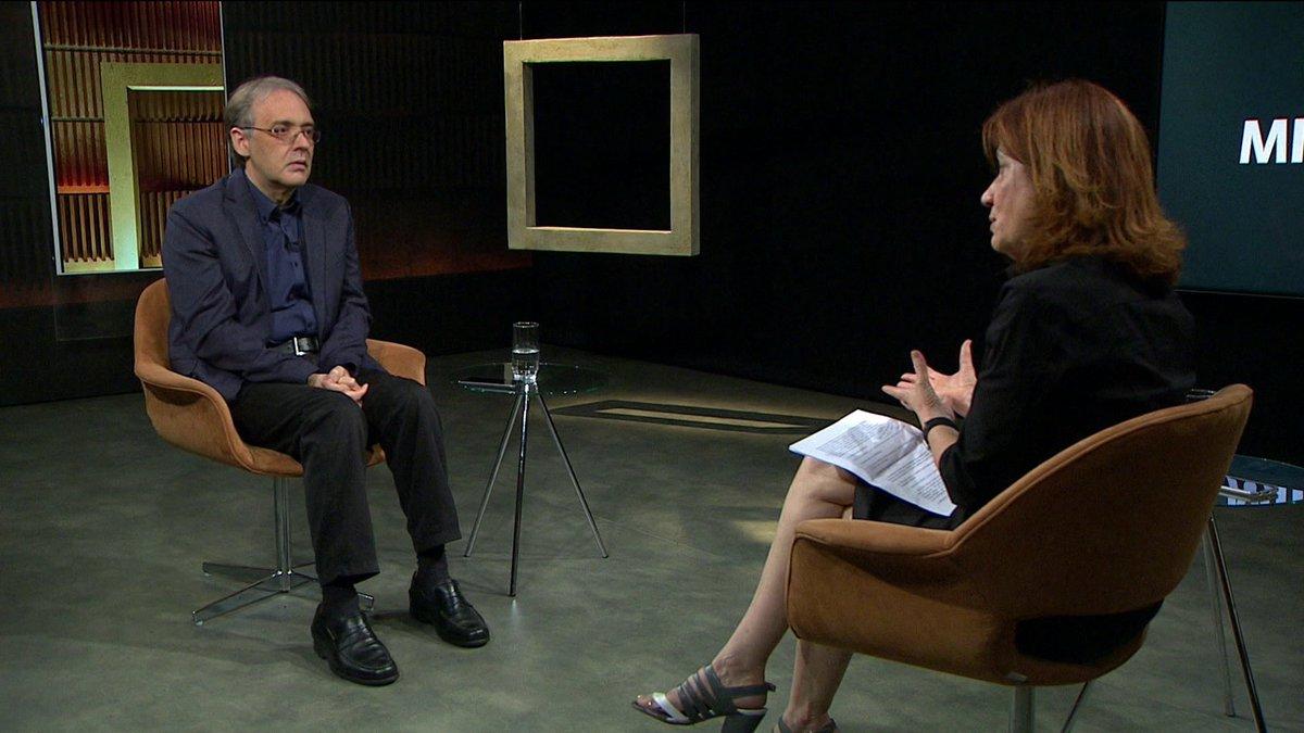 . @MiriamLeitaoCom entrevista Marco Lucchesi, o mais jovem presidente da ABL em 70 anos. Veja às 21h30, na #GloboNews: https://t.co/aI8zugU0NT