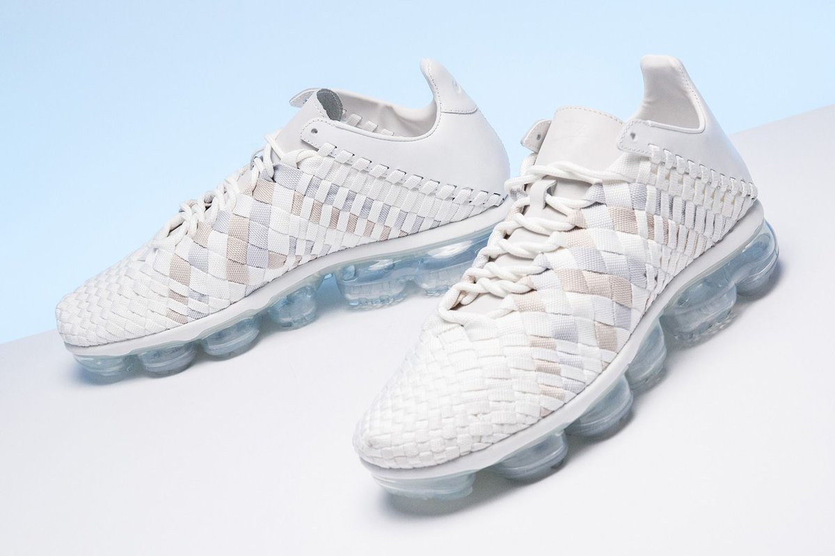81c45606a0954 The new Nike Air VaporMax Inneva combines the unique woven Inneva upper  with the cloud-like cushioning of VaporMax. Available now.  https   buff.ly 2FjeXFW ...