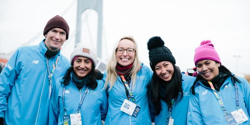 Sunday at the #NYRRRunCenter we'll discuss the opportunities and benefits of volunteering with a group for the @nycmarathon. Groups receive one guaranteed entry to the 2019 TCS New York City Marathon for every 20 volunteers to check in on race day. RSVP: https://t.co/ZBkyyTlILf.