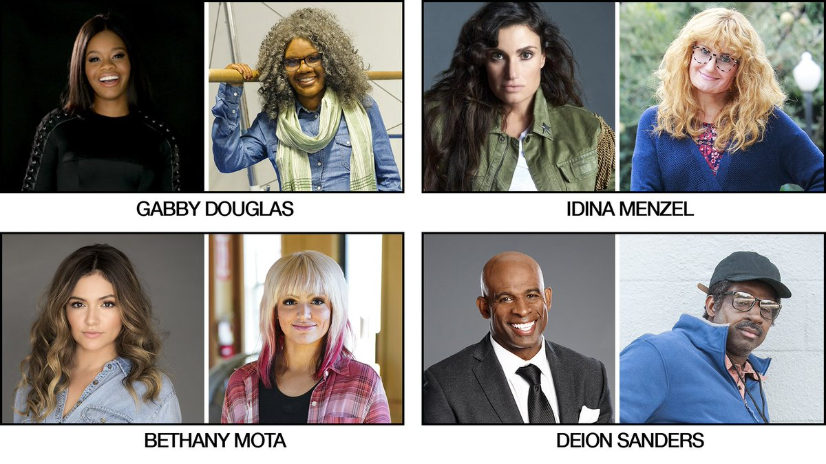 """CBS Announces The First Season Of  """"Undercover Boss: Celebrity Edition,"""" Premiering Friday, May 11 with @gabrielledoug, @idinamenzel, @BethanyMota and @DeionSanders! @undercover_cbs"""