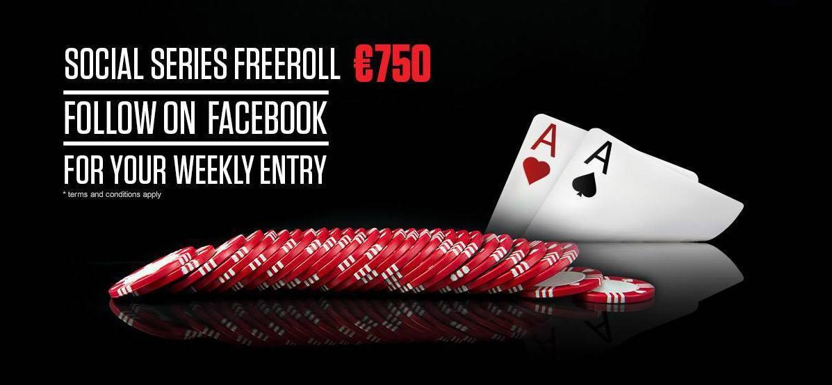 Register now for our exclusive Social Series NL Hold'em tournament this Sunday with the password - offsuit