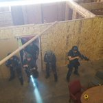 Image for the Tweet beginning: SWAT teams from around the