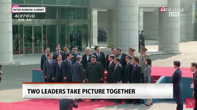 Les deux dirigeants auront des discussions sur un traité de paix entre les deux pays et la dénucléarisation du Nord.