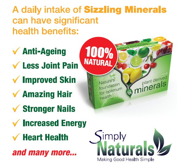 Replenish your body with plant derived minerals!! Discover our daily #SizzlingMinerals. Your body needs 60 -70 minerals every day.&amp; even if you eat well, due to soil depletion you will be lucky if you get 15-20. Change that NOW . See  http:// bit.ly/SizzlingPresen tation &nbsp; …  #USA<br>http://pic.twitter.com/YyAl51XtFB