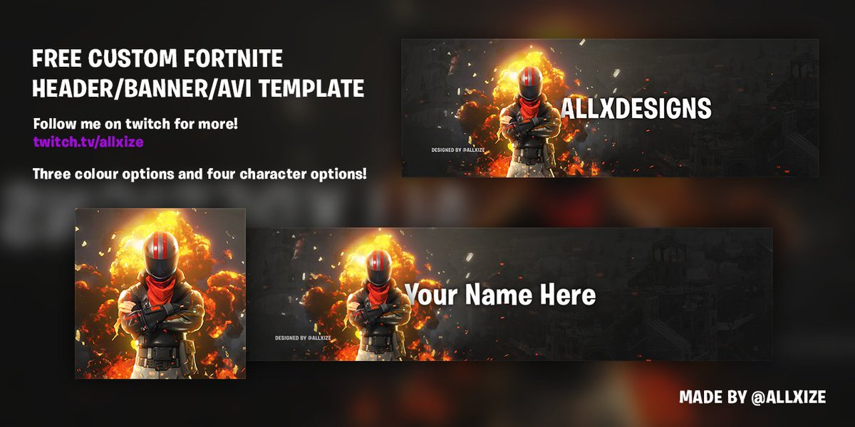 Free Fortnite Twitch Banner | Fortnite Aimbot Yt