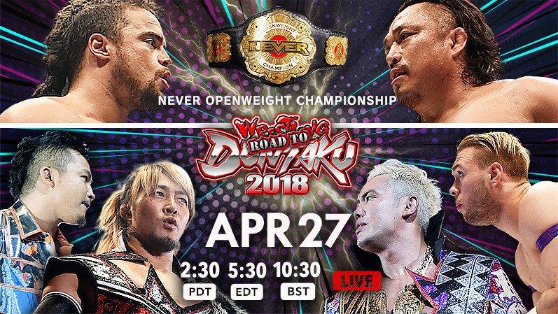 TONIGHT‼︎Road to WRESTLING DONTAKU 2018 – Aki no Kuni SENGOKU EMAKI‼︎ Catch it the live streaming only on https://t.co/Tj7UBJ4PjP ! Full lineup & Tickets sales info▶︎ Donhttps://t.co/e9IrySTNEg't miss the action‼︎   Wo#njDONTAKUr#NJPWl#NJPWWorldd