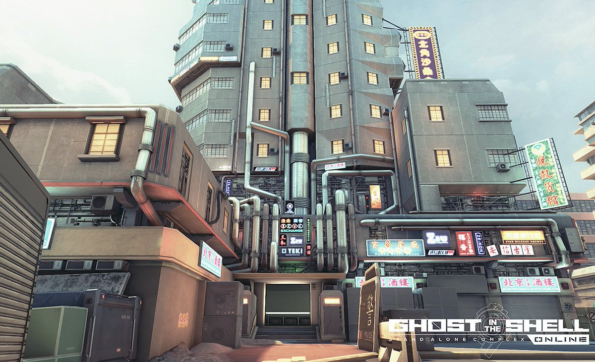 Ghost In The Shell Fps Environment Art 3