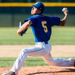 Image for the Tweet beginning: Baseball: Garey completes season sweep