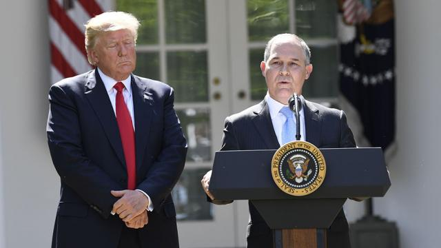 Trump EPA quietly deletes 'international priorities' including climate change from official website https://t.co/hSWTsO4rSW
