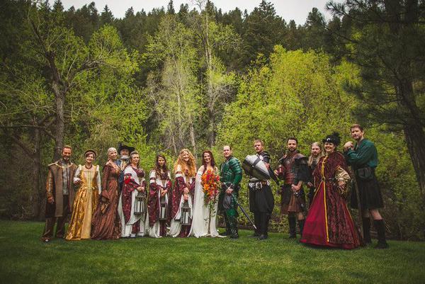 medieval wedding ceremony - HD1200×801