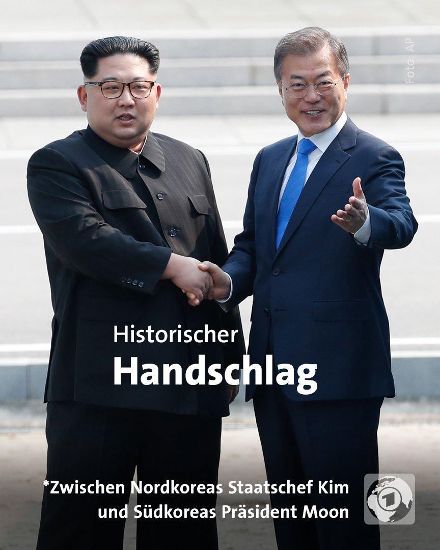 Kim Jong Un hat mit seinem Grenzübertritt nach Südkorea Geschichte  geschrieben: Er ist der erste Machthaber Nordkoreas, der seit Ende des  Korea-Krieges südkoreanischen Boden betreten hat.