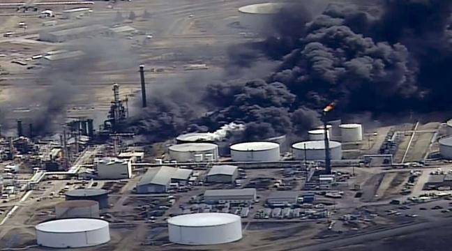 Etats-Unis: Une explosion dans une raffinerie fait ont moins 11 blessés https://t.co/FGWE4H820W