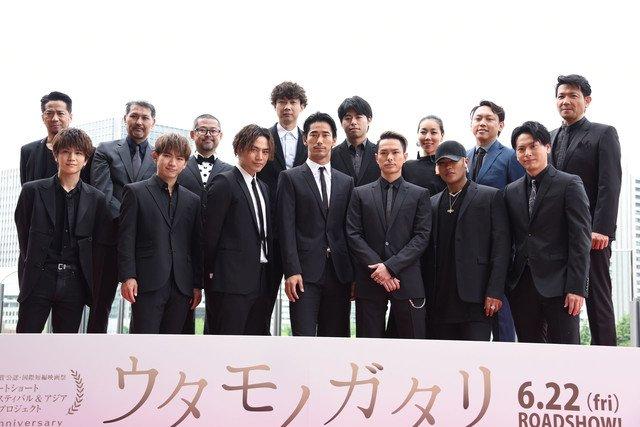 【イベントレポート】SSFF&ASIAナビゲーターの三代目 J Soul Brothersがレッドカーペットに登場(写真39枚) #EXILE #JSB3 https://t.co/VYSs9Bo9uA