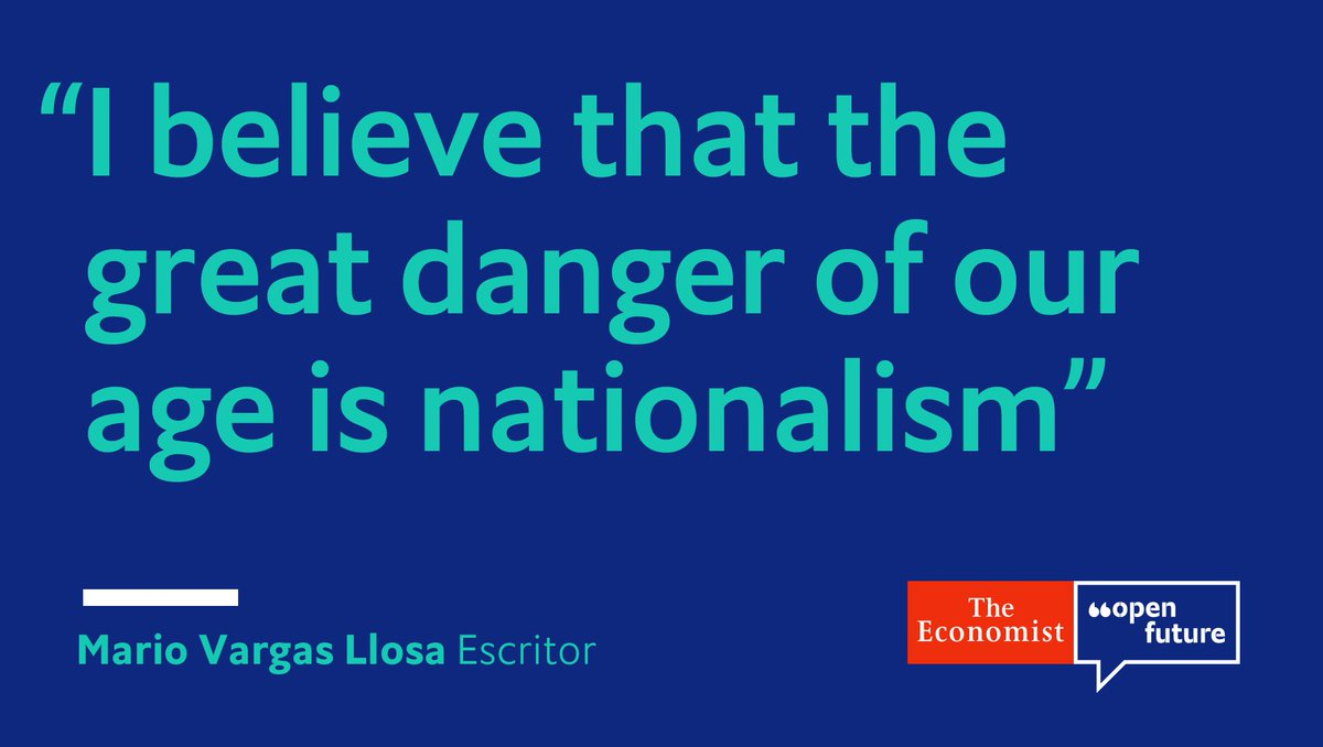 Mario Vargas Llosa spoke with @TheEconomist about liberalism, Latin America and Spain. Read the interview #OpenFuture https://t.co/Eobi1TSlR0