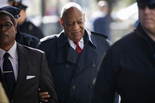 Après trois semaines de procès, Bill #Cosby déclaré coupable d'agression sexuelle - https://t.co/VmWeZrSHj3