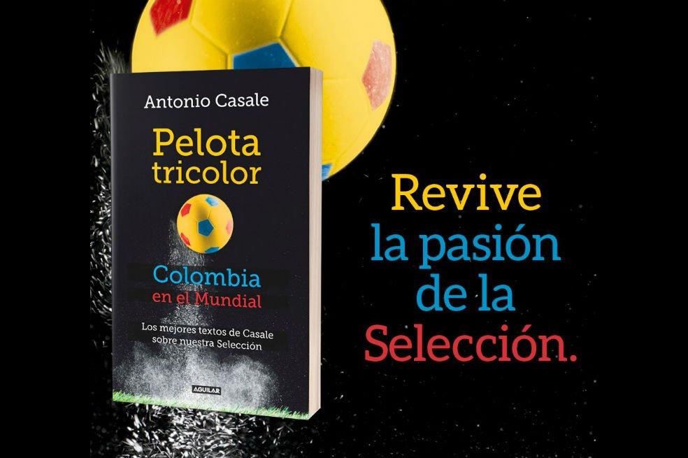 """Antonio Casale presenta su libro """"Pelota tricolor"""" https://t.co/A4qEl1jcrR"""