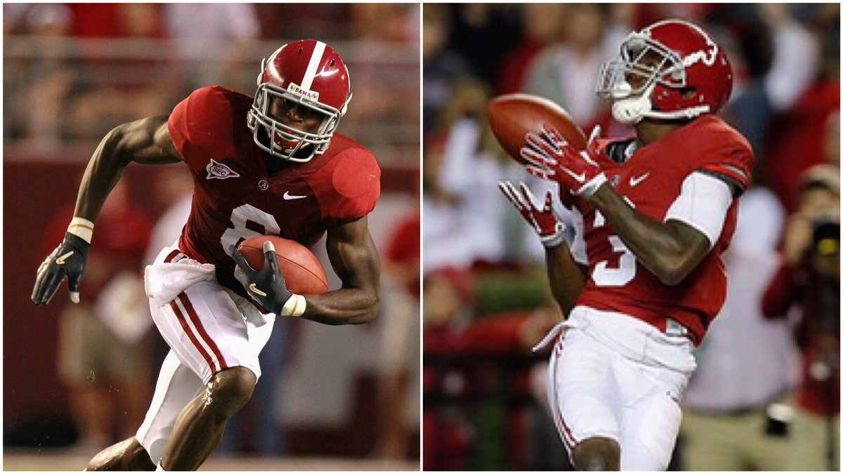 Espn College Football On Twitter Julio Jones Calvin Ridley The Atlanta Air Game Will Have A Distinct Tint Of Crimson